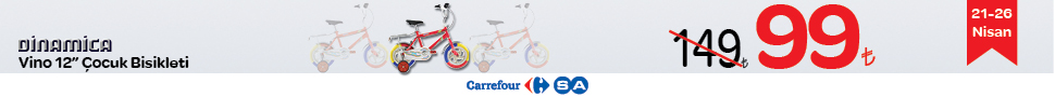 CarrefourSA�da Şimdi Bisiklet Zaman�